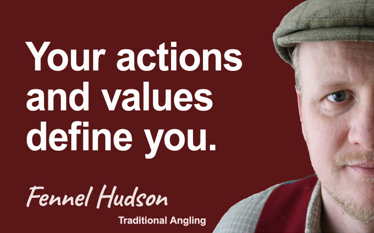Your actions and values define you. Fennel Hudson author quote.