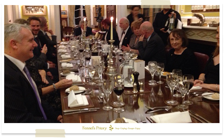 Fennel's Priory 2016 Friends dinner