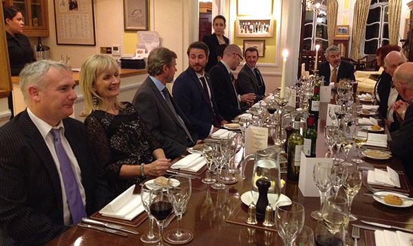 Fennel's Priory annual dinner 2016