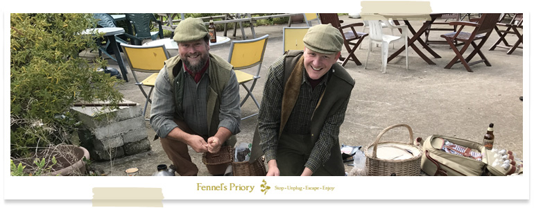 Fennels Priory hobo stove dining event