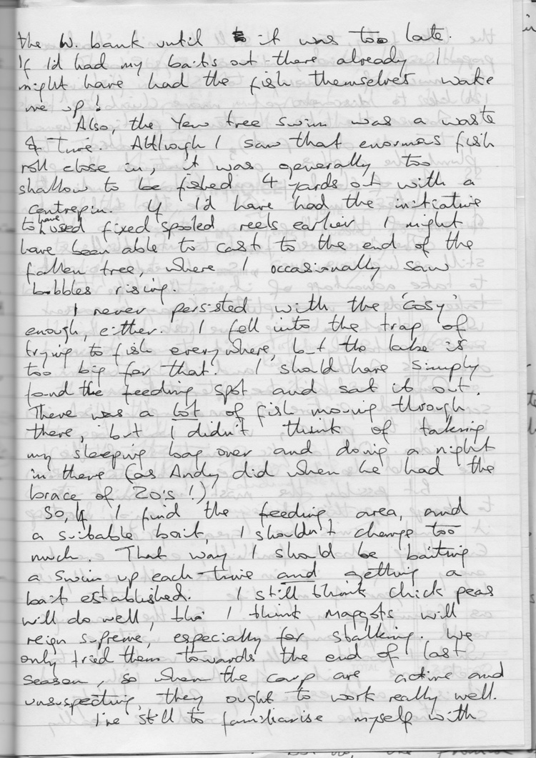 The first Fennel's Journal Letter - April 1996