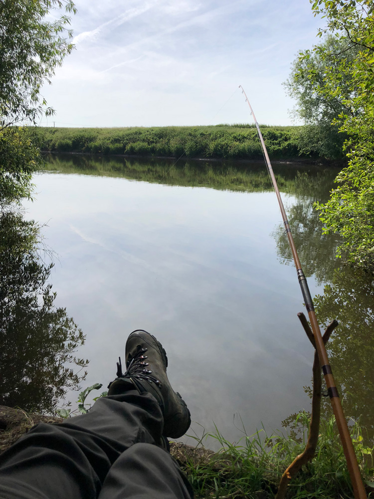 Traditional angling on the River Trent, Fennel Hudson