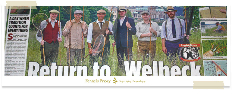 Fennel's Priory - Angling Times 60th Anniversary