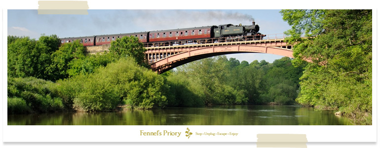 Fishing by Steam Train, Fennel's Priory event