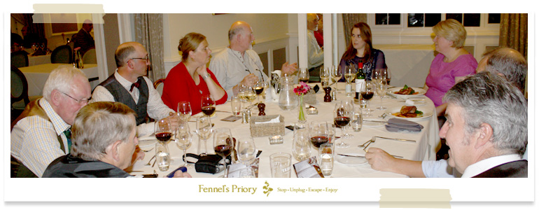 Friends of the Priory dinner