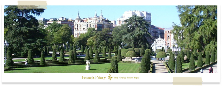 Madrid dinner, Fennel's Priory event