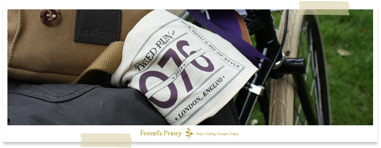 Fennel's Priory Tweed Run 2014