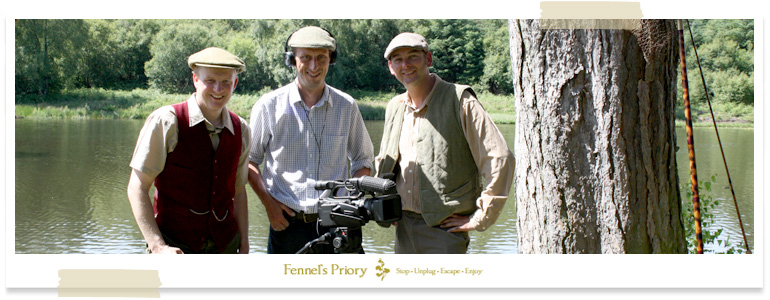 Fennel's Priory wild carp DVD shoot