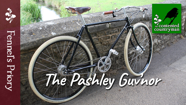 The Contented Countryman podcast - rural cycling, the pashley guv'nor