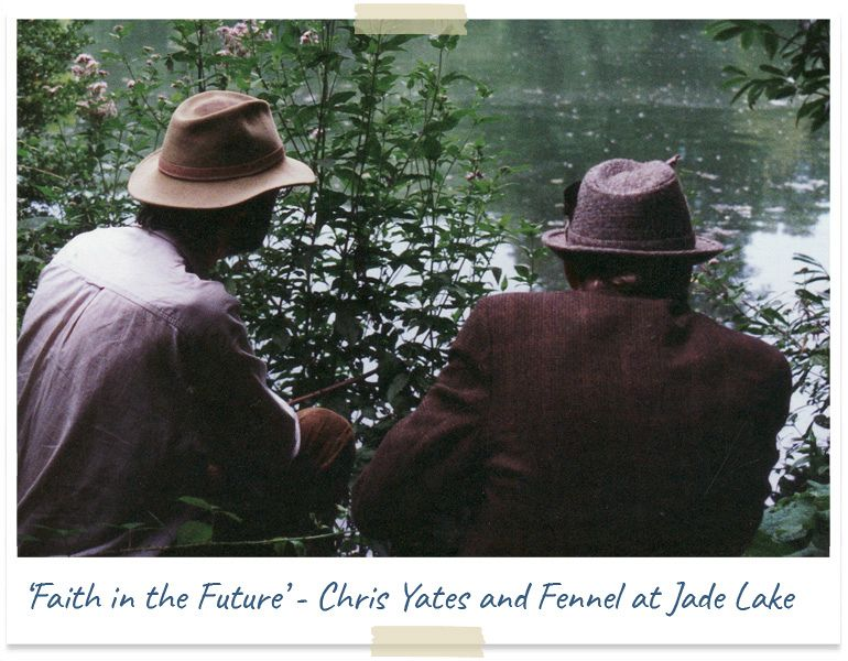 faith in the future - chris yates and fennel at jade lake
