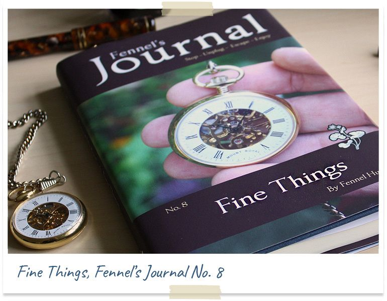 Fine Things, book by Fennel Hudson