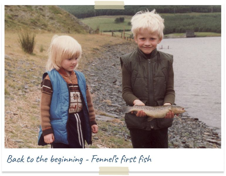 Back to the beginning - Fennel's first fish