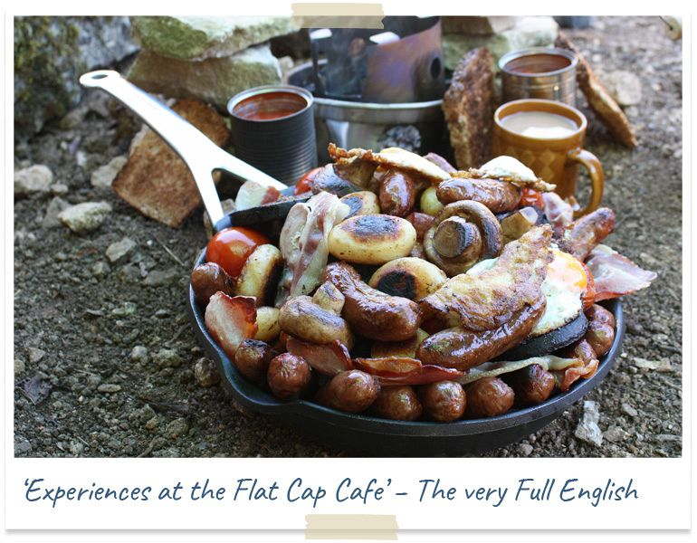 Experiences at the flat cap cafe
