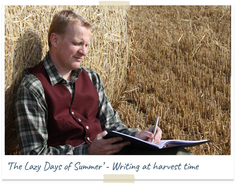 The lazy days of summer - writing at harvest time