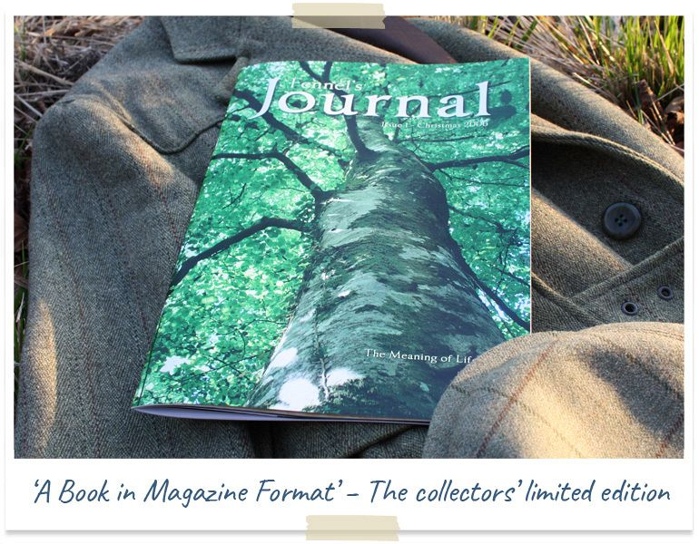 Limited edition collectors' magazine Fennel's Journal