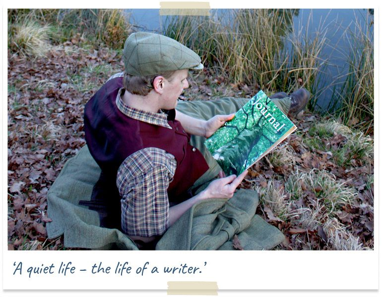A quiet life - the life of a writer