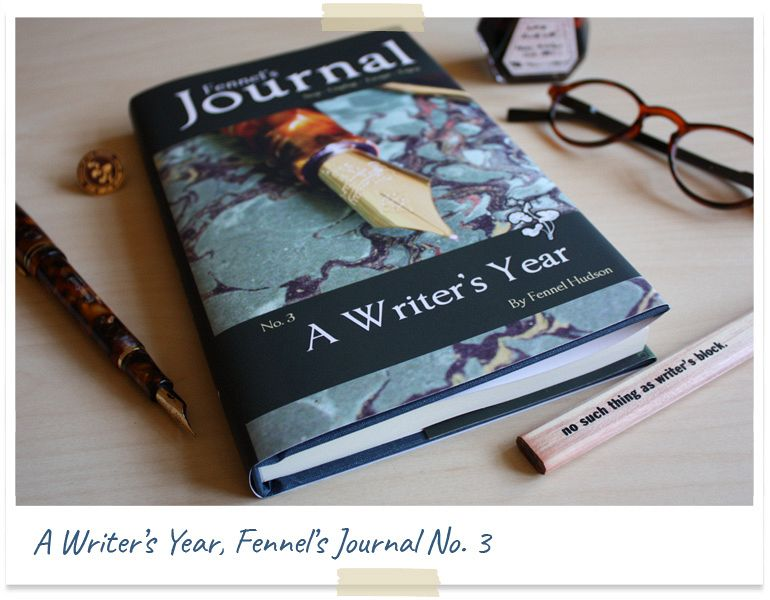 A Writer's Year, Fennel's Journal No.3, new book by Fennel Hudson